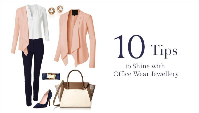 Tips to Shine with Office Wear Jewellery