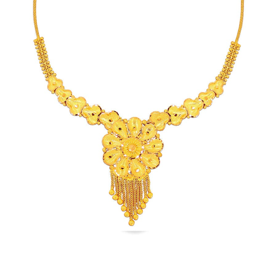 Gold NecklaceKalyan Jewellers