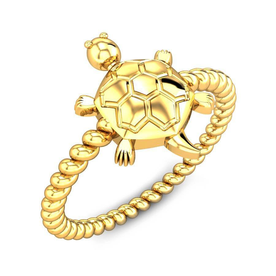 Oyster Shell Tortoise Ring Jewellery Shopping Online India ...