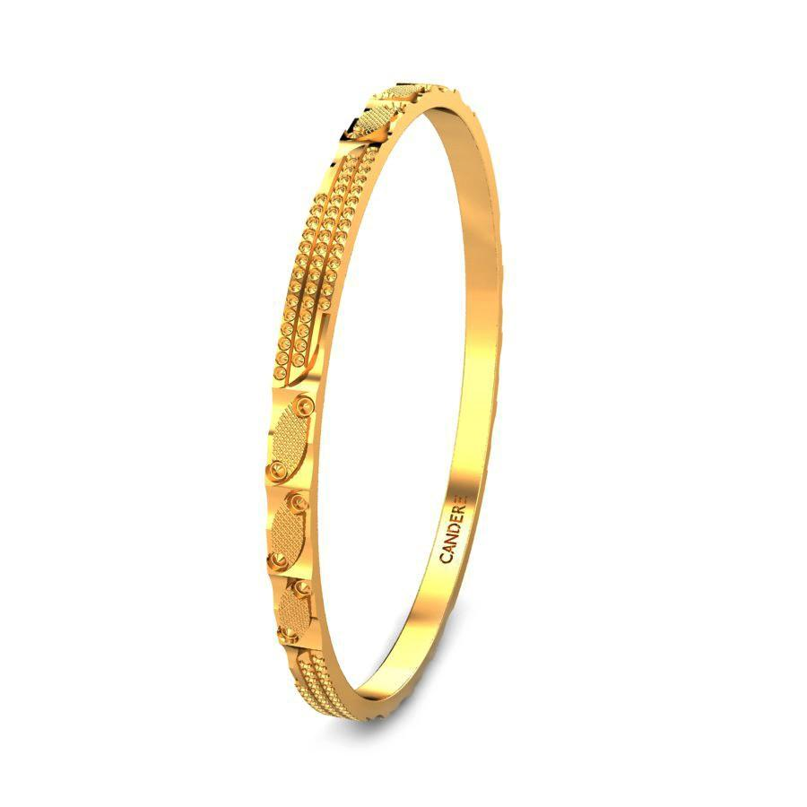 Yellow Gold 22K | Geetanjali Gold Bangle | Candere.com