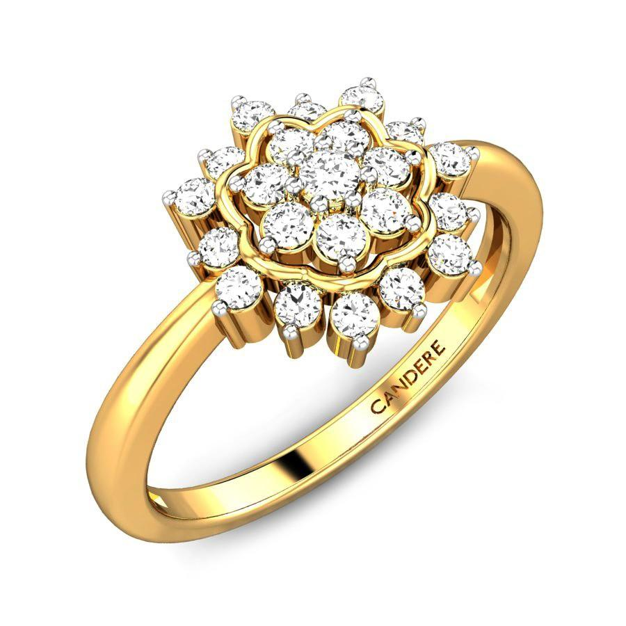 27d9eed18 Carissa Diamond Ring Online Jewellery Shopping India | Yellow Gold ...