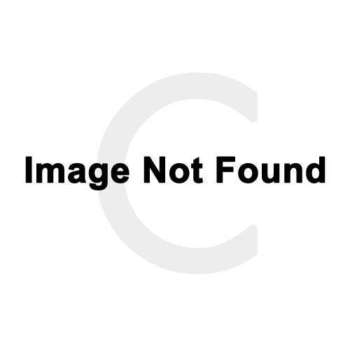 milgrain s diamond white letter necklace pendant boutique gold in