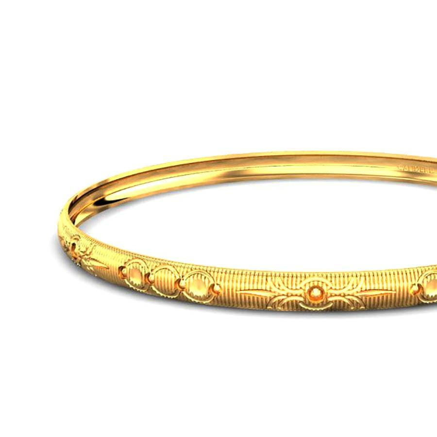 plain com jewellery yellow bangles kalyan bracelet ruchi candere india online company gold shopping a bangle jewellers