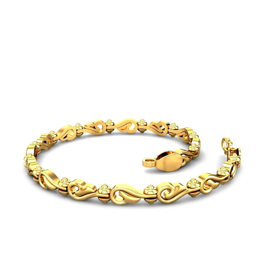 gold at golden dp women in india bracelet buy peacock prices low online