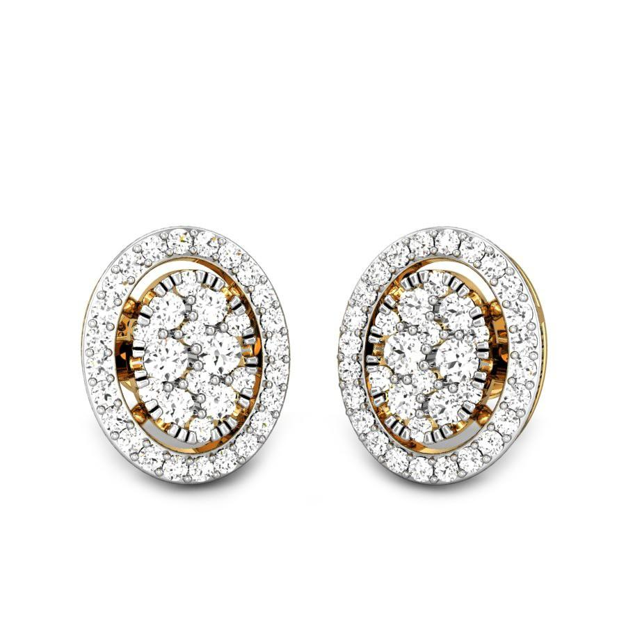 halo product earrings hanging white fabrikant jewellery diamond andrew gold