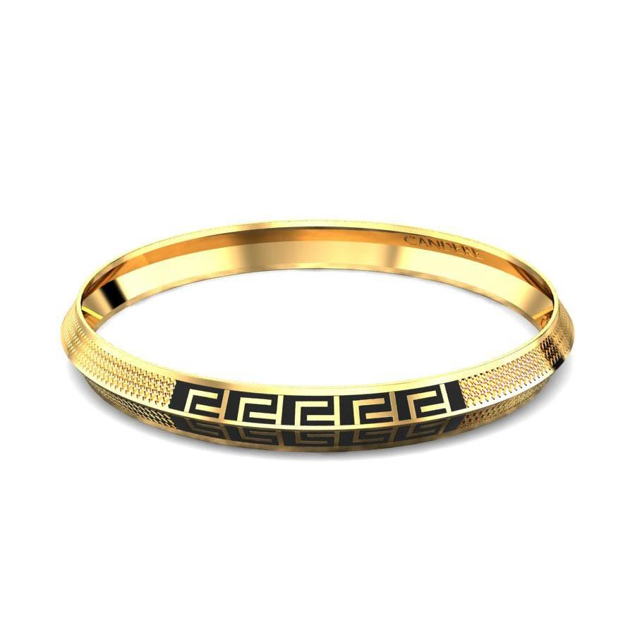 Latest gold kada design for man