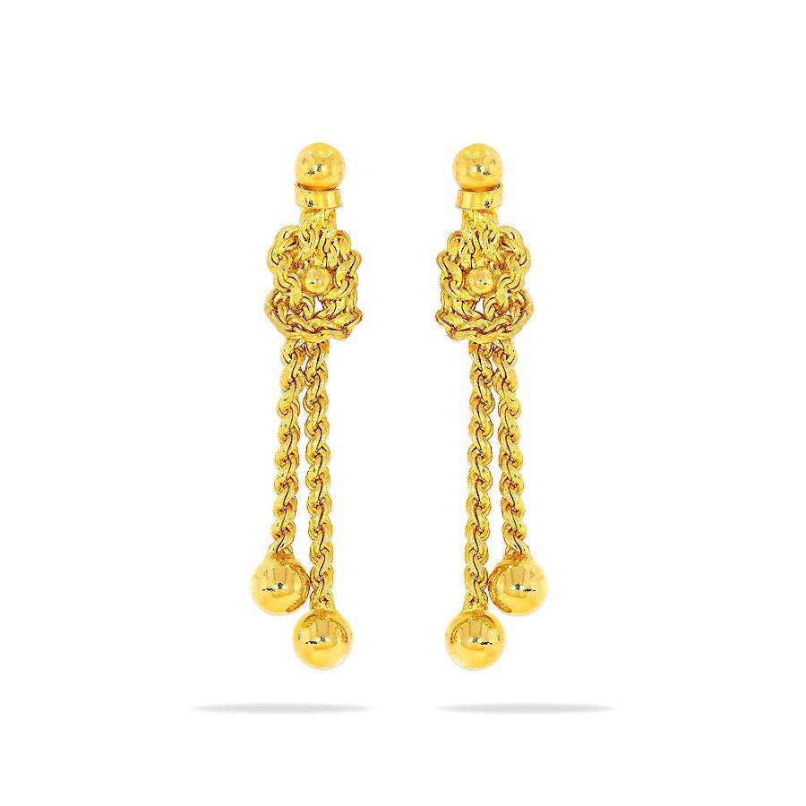 96cfb9904 Abhisala Gold Earrings Online Jewellery Shopping India | Yellow Gold ...