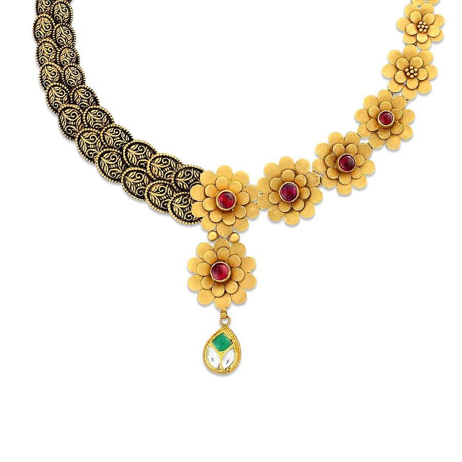 Buy Gold Necklaces Online 278 Gold Necklaces Designs Price