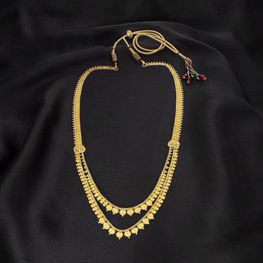 Gold Necklace For Women | Latest Designs | Candere.com - A Kalyan ...