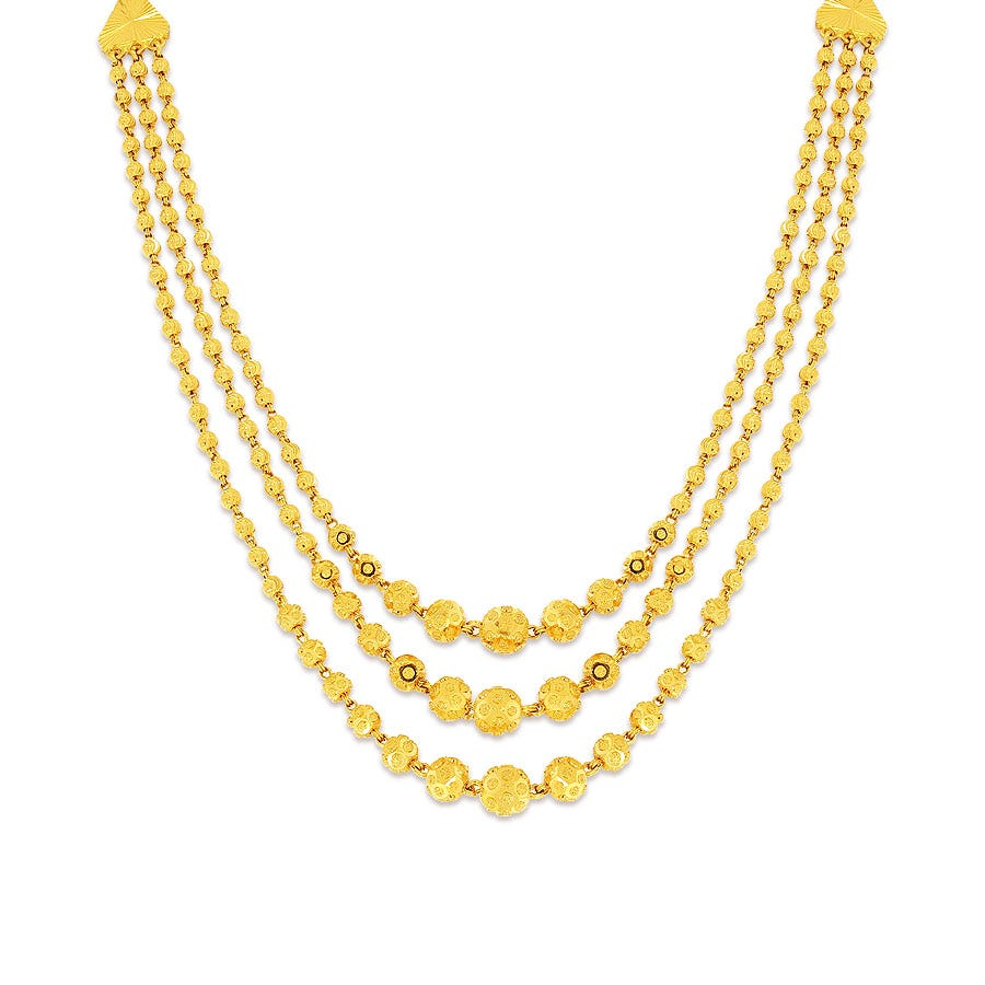 Iria Nivara Gold Necklace Online Jewellery Shopping India Yellow Gold 22k Candere By Kalyan Jewellers