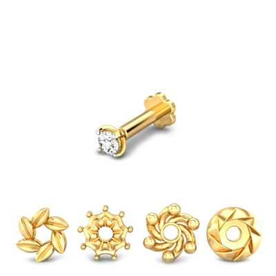 Buy Nose Pins Online 250 Nose Pins Designs At The Best Price