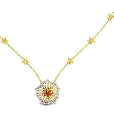 Buy pendant necklaces online 30 pendant necklace the best price desert rose diamond necklace aloadofball Images