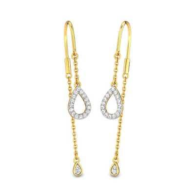 88ab80cc5 Buy Sui Dhaga Earrings Online | Gold & Diamond Sui Dhaga Earrings ...