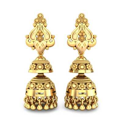 Shop Jhumkas Earrings Online 100 Earrings Design Jhumka Candere