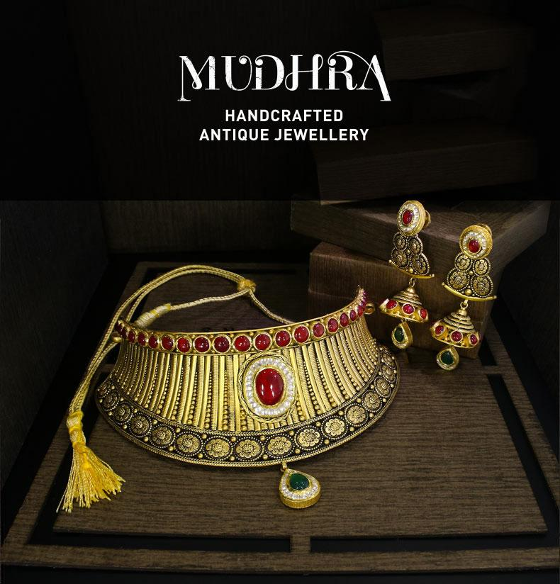 Mudhra - Antique Jewellery Collection | Candere.com - A Kalyan ...